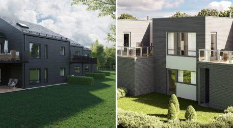 nye boliger ved Drammen Travbane